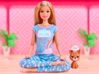 Barbie se met à la méditation avec sa collection bien-être