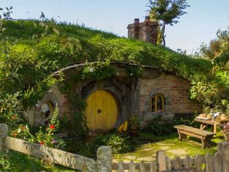 Une bibliothèque Hobbit pour donner envie de lire aux enfant