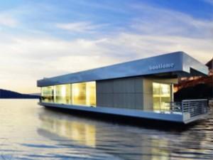 Boathome, la maison flottante et nomade