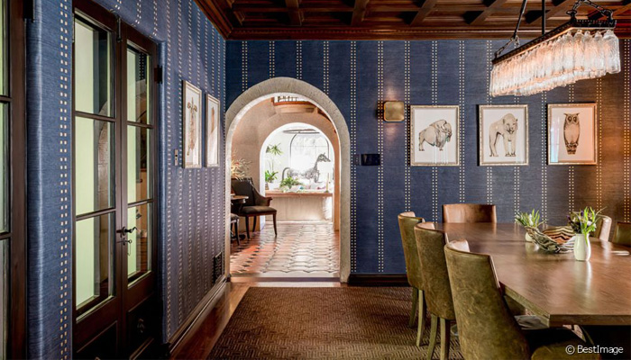 Villa maman DiCaprio