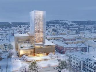 Le plus haut gratte-ciel en bois du monde est en Suède