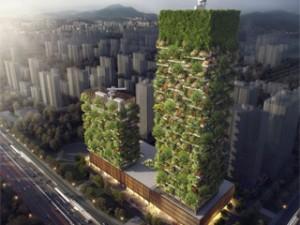 La future tendance des immeubles-forêts en ville