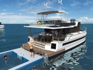 Kayflow, une maison-bateau économe et écolo