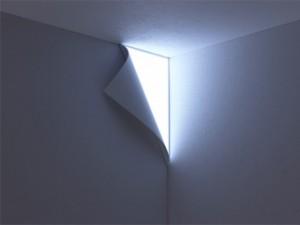 Une lampe trompe-l'oeil pour votre mur