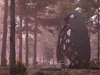 Une maison martienne à louer sur Terre