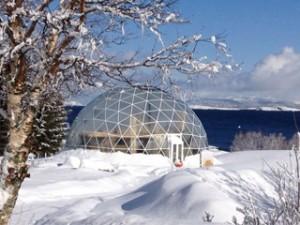 Un dôme ingénieux pour vivre dans le cercle arctique
