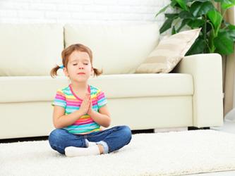 Enfants : remplacez les punitions par de la méditation