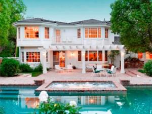 La jolie maison d'Omar Sy en Californie