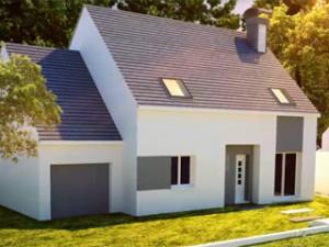une maison en b ton pas ch re et construite en 8 semaines. Black Bedroom Furniture Sets. Home Design Ideas
