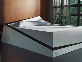 Un lit intelligent pour rester de son côté