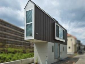 Une surprenante maison japonaise tout en longueur