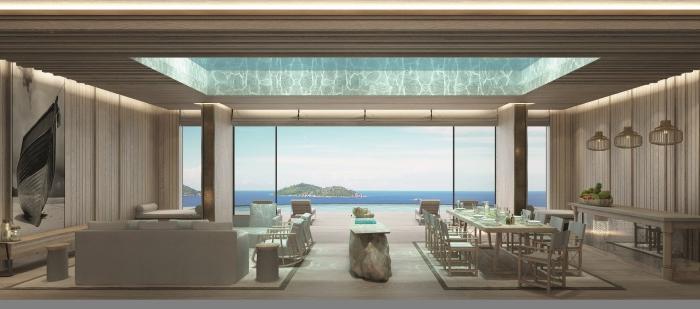 luxe et volupt combien co te une villa sur une le. Black Bedroom Furniture Sets. Home Design Ideas