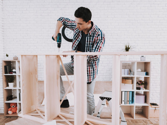 10 idées pour gagner un peu d'espace chez soi