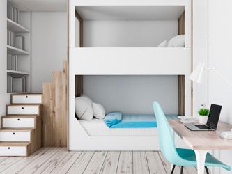 10 astuces pour gagner de la place dans une petite chambre