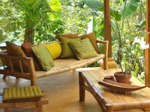 Des meubles en bambou pour une ambiance exotique