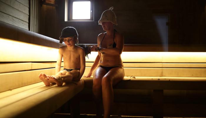 sauna russe