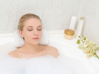 Le bonheur d'un bain