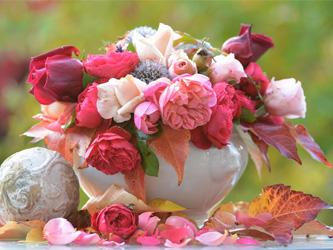 Le bouquet de fleurs, la petite touche fraîcheur