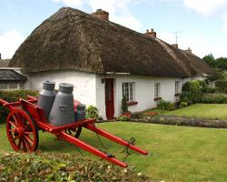 Le toit de chaume : charme et efficacité