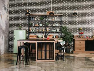 Les secrets d'une cuisine au style industriel