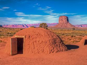 Le hogan, la maison sacrée des Navajos