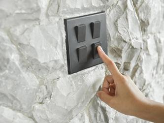 Les interrupteurs peaufinent votre décoration
