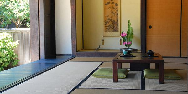 Dcoration japonaise chambre japonaise fenetre ronde for Bureau style japonais