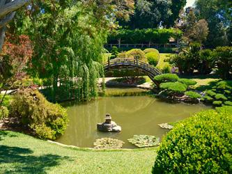 Se relaxer dans un jardin japonais
