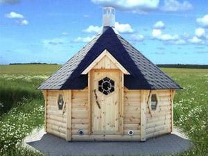 Original : un kota finlandais dans votre jardin