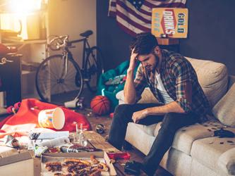 Un logement encombré peut vite vous déprimer