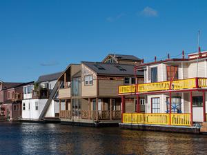 La maison flottante, l'habitat du futur ?