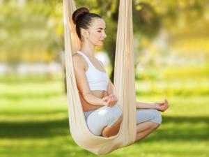 Un cocon dans les airs pour mieux méditer