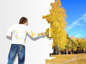 Décorez la maison avec des peintures écolos