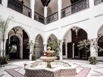 Le riad, la vision marocaine du paradis