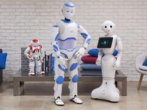 Les robots débarquent à la maison