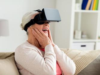La réalité virtuelle au service des seniors dépendants