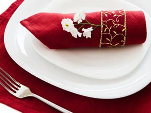 La serviette de table, le petit détail qui change tout